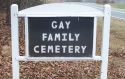 Gay Family Cemetery
