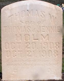 Thomas W Holm