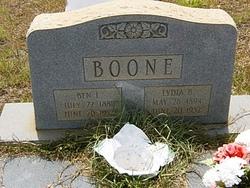 Lydia B. Boone