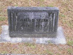 Donald D Sparks
