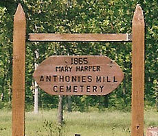 Anthonies Mill Cemetery