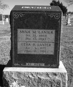 Anna M. <I>Volkman</I> Lanier