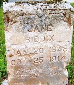 Jane <I>Branch</I> Biddix