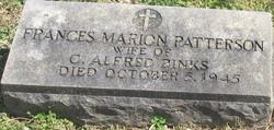 Frances Marion <I>Patterson</I> Binks