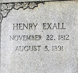 Henry Exall