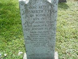 Elisabeth <I>Rothrock</I> Eyer