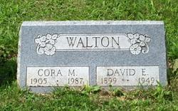 Cora Maude <I>Swango</I> Walton