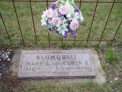 Mary L <I>Hickok</I> Blomquist