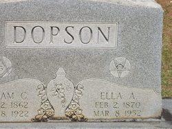 Ella A <I>McDonald</I> Dopson