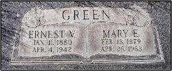 """Mary E """"Molly"""" <I>Butler</I> Green"""
