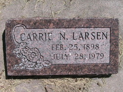 Carrie Ovida <I>Nielsen</I> Larsen
