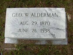 George Washington Alderman