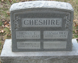 Elizabeth Maud <I>Childress</I> Cheshire