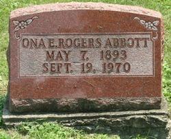 Ona E. <I>Rogers</I> Abbott
