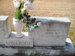 Janie M. <I>Peyton</I> Anderson