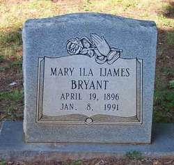 Mary Ila <I>Ijames</I> Bryant