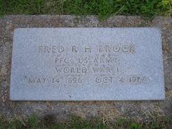 Fred Robert Herman Brock