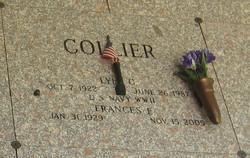 Frances E <I>Aldrich</I> Collier