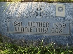 Minnie May <I>Bowns</I> Cox