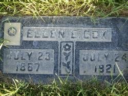 "Ellen Eliza ""Nellie"" <I>Akers</I> Cox"