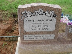 Nancy P Langenbahn
