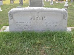Julia Louona <I>Saunders</I> Burgin