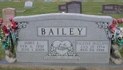 Pauline <I>Holland</I> Bailey