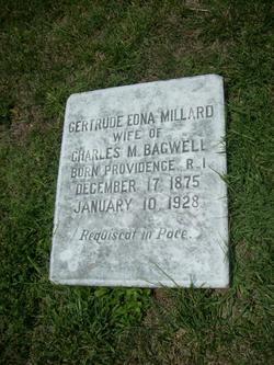 Gertrude Edna <I>Millard</I> Bagwell