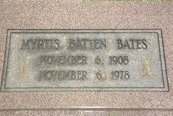Myrtis <I>Batten</I> Bates