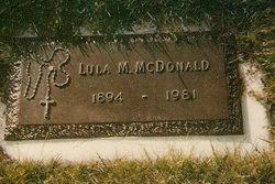 Lula Maude <I>Bishop</I> Henderson-McDonald