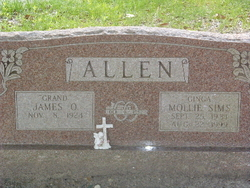 "Mollie ""Ginga"" <I>Sims</I> Allen"