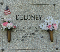 Leonard W Deloney
