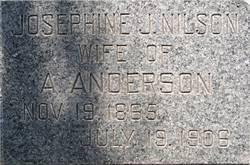 Josephine Judith <I>Nilson</I> Anderson
