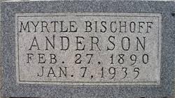 Myrtle <I>Bischoff</I> Anderson