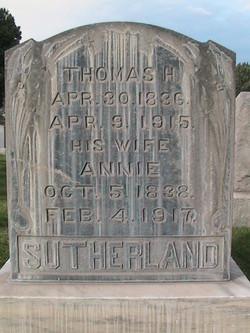 Annie <I>Tunbridge</I> Sutherland
