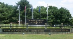 Maryland Veterans Cemetery - Eastern Shore