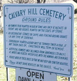 Calvary Hill Cemetery in Crabtree, Pennsylvania - Find A Grave Cemetery