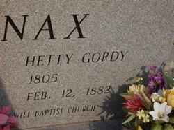 Hetty <I>Gordy</I> Brodnax
