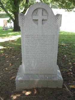 Memorial for Yellow Fever Religious