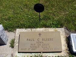 Paul C Bliese