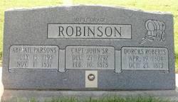Capt John Robinson, Sr