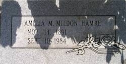 Amelia Maria <I>Mildon</I> Hamre