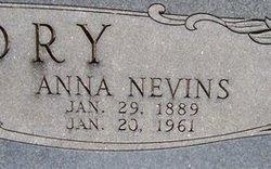 Anna <I>Nevins</I> Bowdry