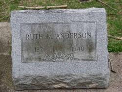 Ruth M. <I>Morgan</I> Anderson