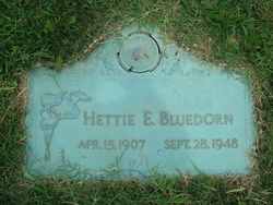 Hettie Estelle <I>Sinks</I> Bluedorn