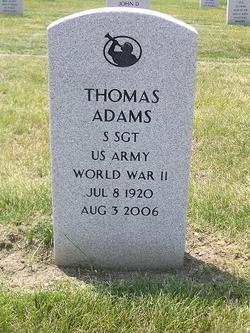 Sgt Thomas Adams