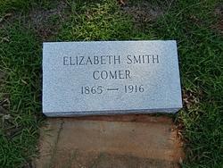 Elizabeth <I>Smith</I> Comer