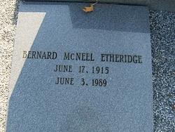 Bernard McNeel Etheridge