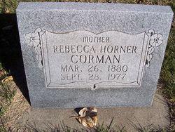 Rebecca O. <I>Horner</I> Corman