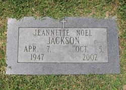 Jeannette <I>Noel</I> Jackson